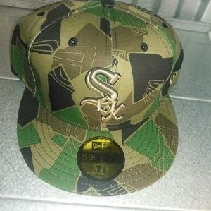 Other - New era fitted chicago white Sox camouflage